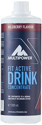 Multipower Fit Active Drink Concentrate Wildberry, 1 l