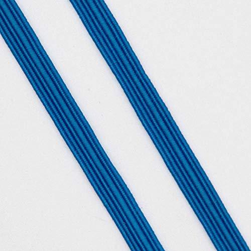 Elastische Band Kleurrijke Zachte Latex Garen 6mm Elastische Bands Rubber Band DIY Zwangere Baby Naaien Kleding Applique Tassen Accessoires 13lake blue