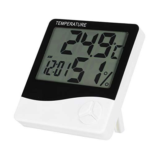 Dioche Termómetro Digital, medidor de Temperatura de diseño portátil de Baja Potencia, para Monitor de termómetro