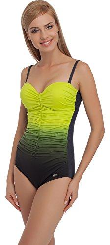 Merry Style Traje de Baño Entero 1 Pieza Monokini Bañador Mujer MS60