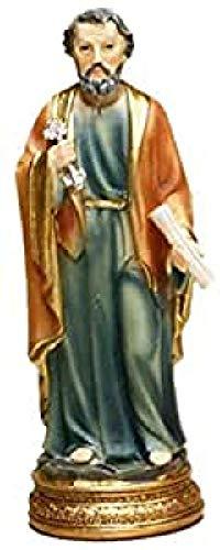 Trofeos Cadenas San Pedro. Figura Religiosa, en Resina, 12 cm