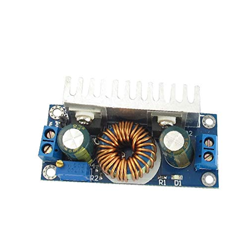 X-DREE DC-DC 24V a 12V 8A Convertidor de regulador de voltaje Disipador de calor Paso a paso Módulo de alimentación Placa PCB (Carte de circuit imprimé de module d'alimentation CC-CC 24V à 12V