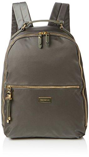 SAMSONITE Karissa Biz - Laptop Backpack 14.1 Rucksack, 41 cm, 17.5 L, Gunmetal Green