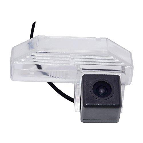 Kalakus Rückfahrkamera in Kennzeichenleuchte Wasserdicht Nachtsicht Auto Rückansicht Kamera Einparkhilfe Rückfahrsystem für Mazda 6 2009-2012 Mazda RX-8