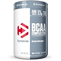 Dymatize BCAA Complex 2200 Promotes Muscle Regeneration, Time Released Aminos, 400 Tablets