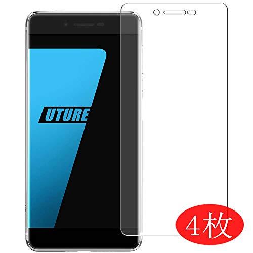 Vaxson 4 Stück Schutzfolie kompatibel mit Ulefone Future, Displayschutzfolie Bildschirmschutz Blasenfreies TPU Folie [Nicht Panzerglas]