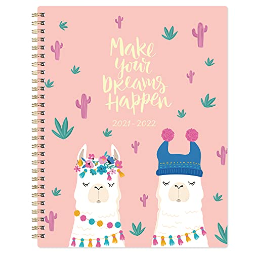 """2021-2022 Planner - Weekly & Monthly Planner with to-do List, 8"""" x 10"""", Jul 2021 - Jun 2022, Twin Wire Binding, Premium Thick Paper"""