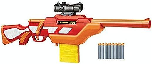 Amazon Com Buzz Bee Air Warriors The Walking Dead Andrea S Rifle Dart Blaster Toys Games