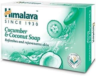 Himalaya Herbals Refreshing Cucumber Soap & Coconut Soap, 75gm