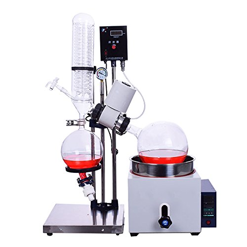 5L Lab Rotovap Rotary Evaporator/Evaporation Apparatus for Efficient Gentle Removal of Solvents (110V)