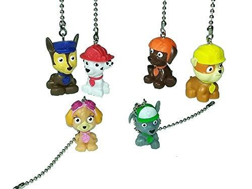 Paw Patrol Ceiling Fan Pull Chain by Wooden Androyd Studio -...