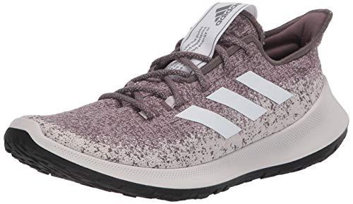 adidas Women's SenseBOUNCE + W Running Shoe, Vision Shade/FTWR White/Soft Vision, 12 Standard US Width US