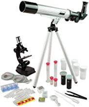 Elenco Microscope & Telescope Set Building Model Kit