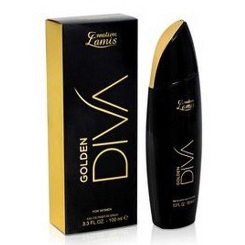 Creation Lamis Golden Diva Eau de Parfum für Damen, 100 ml