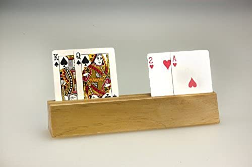 Sunnywood Games 3325 Wooden Card Holder by Sunnywood