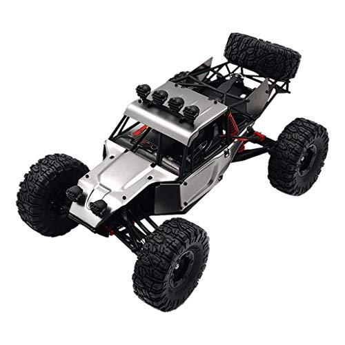 FY03 Upgrade Brushless RC Auto 70km / h, 2,4GHz Ferngesteuerter Auto Geländewagen 4WD, Hoch Geschwindigkeits Rennwagen Off Road Dune Buggy für Kinder und Erwachsene 40 x 27.5 x 20 cm (Silber)