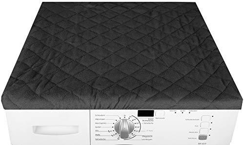 Bestgoodies Trockner und Waschmaschinenbezug 60x60cm in (Schwarz)