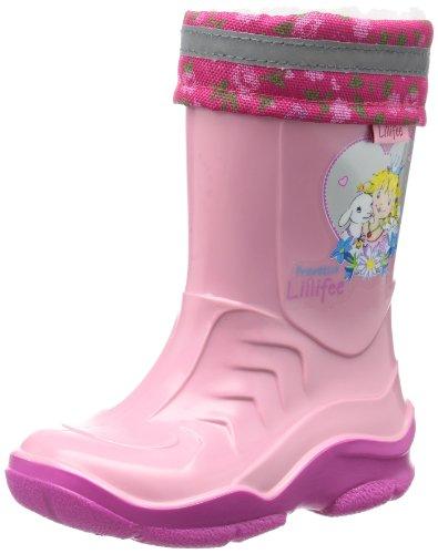 Prinzessin Lillifee Mädchen 120084 Schlupfstiefel, Pink (rosa 42), 34