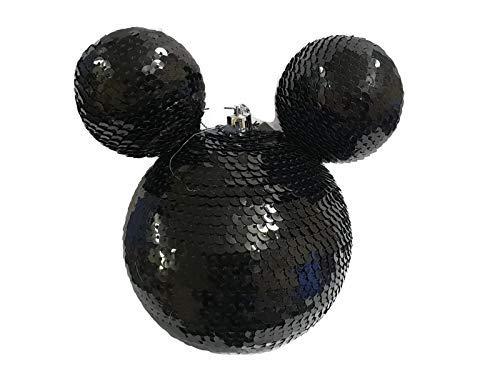 Disney Mickey Mouse Nero Grande Palline Di Natale Gingillo