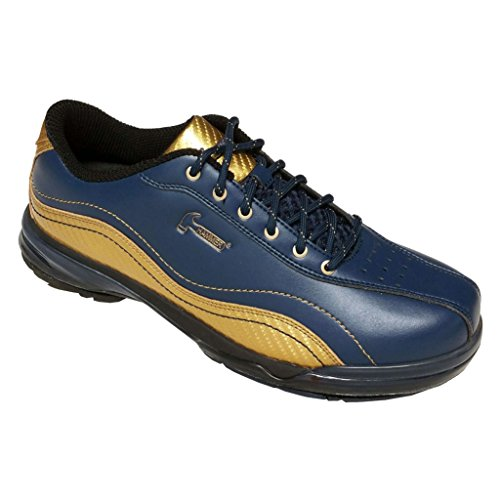Hammer Mens Force Performance Bowling Shoes LE- Admiral Navy/Gold (9 M US)