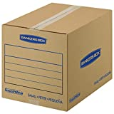Best Book Boxes - Bankers Box SmoothMove Basic Moving Boxes, Small, 16 Review