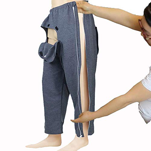 GLJY Incontinencia para Adultos Ropa de enfermería para Pacientes Mayores, Pantalones de...