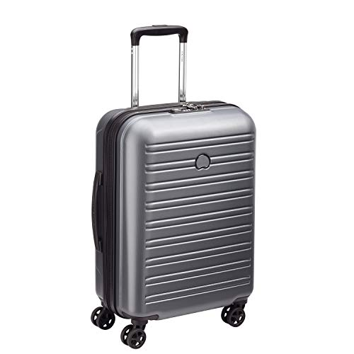Delsey Paris SEGUR 2.0 Hand Luggage, 55 cm, 36.3 liters, Grey (Gris)