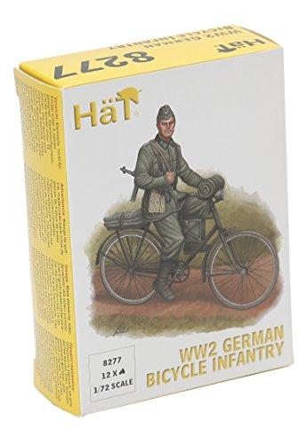 Unbekannt HäT 008277 - 1/72 WWII Deutsche Infanterie auf Fahrrad