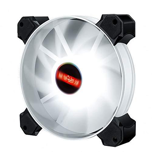 zxcasd Ventilador De Refrigeración, Ventilador para Ordenador, Computadora, Ventilador De Caja Silenciosa, Ventilador De Caja para CPU, Ventiladores De Caja, Ventilador De Radiador De Refrigeración