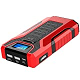 YGBH Car Jump Starter 12V Lithium-Ion Jump Starter Battery Booster Power Bank with Dual USB Charging Support for Starting Gasoline And Diesel Engines