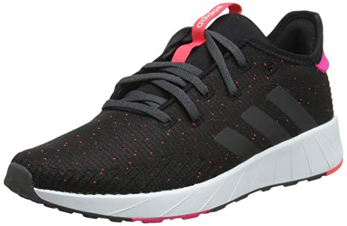 adidas Damen Questar X Byd Laufschuhe, Schwarz (Core Black/Grey Six/Shock Pink), 39 1/3 EU