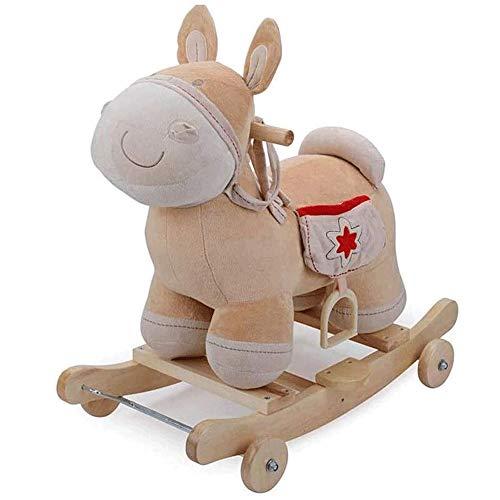 XWX Kindergeburtstagsgeschenk Mit Stern-Rocking-Pferd