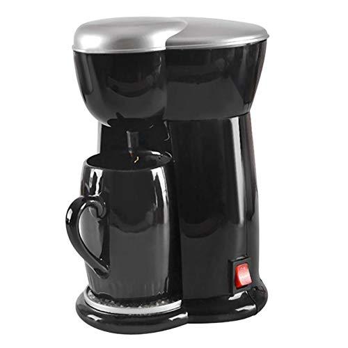GTJXEY Espressomaschine, automatische Espressotassen Tropfkaffeemaschine Amerikanische Kaffeemaschinen-Tropfart Einzelschale Geeignet für Privatanwender, Geschäftsreisende, Party-Home-Office