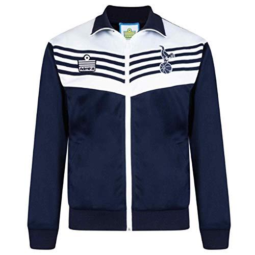 THFC Offizielle Tottenham Hotspur (Sporen) 1970er Jahre Klassische Retro-Jacke mit Reißverschluss (100% Polyester), Herren, SDRET55 Spurs JKT, blau, XL