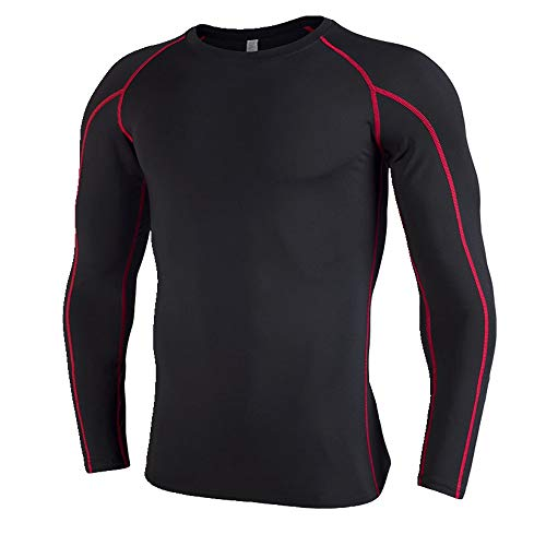 NOBRAND Herren-Sportbekleidung mit langen Ärmeln. Gr. L, schwarz 1