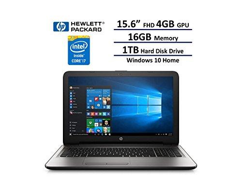 2017 HP 15.6' Full HD IPS UWVA (1920 x 1080) Laptop: Intel 7th Gen i7-7500U, 16GB DDR4 RAM, AMD...