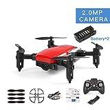 MachinYesity Mini Drone LF606 con 2 batterie 720P Telecamera HD FPV RC Quadcopter Altitudine...