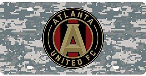 Atlanta United Premium License Plate, Winter Camouflage Edition