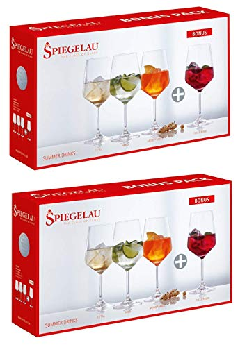 Spiegelau Summer Drinks Set/8 Bonus Pack 4670171 x 2