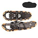 Shfmx Raquetas de Nieve para Hombres y Mujeres, Hechas de Marco de Aluminio, Tabla de Snowboard, Calzado Deportivo de montaña, Talla de calzado25-29 Pulgadas,25in