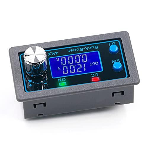 DC DC Buck Boost Converter Variable Voltage Regulator CC CV 0.5-30V 4A 5V 6V 12V 24V Power Module Adjustable Voltage Regulated Laboratory Power Supply