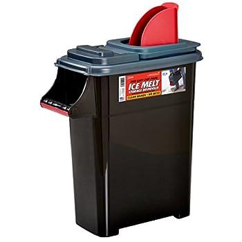 Buddeez 14601GRAY-DS Ice Melt Dispenser 14601GRAY-ONL Black/Gray/red
