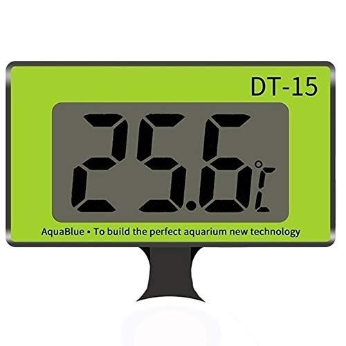 AILOVA Digital Acuarios Termómetros Impermeable Termómetro De Pecera con Ventosa Indicador de Temperatura para Acuarios Terrarios
