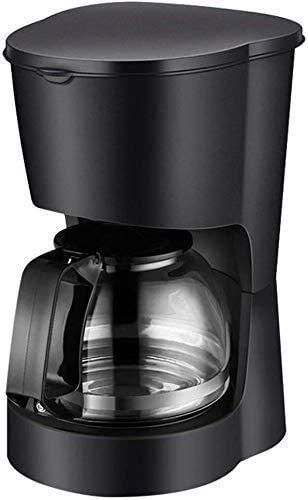 PXX Kaffeemaschine Kaffeemaschine, Kaffeevollautomat Drip Kaffee Mit 600Ml Glaswassertank, Temperiergeräte Isolierung Funktion, Automatischer Heizungs-Funktion, 600W, Für Espresso Co