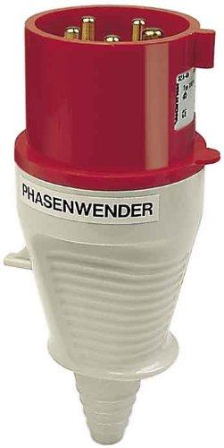 Walther Werke Phasenwender Stecker 210 PH 16A 5P 400V 6h IP44 CEE-Stecker 4015609011858