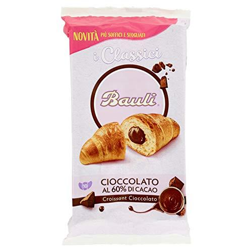 Bauli Croissant Cioccolato con il 60% di Cacao, Confezione da 10 x 50g