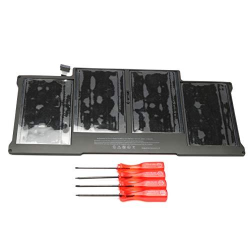 """Batería de polímero de litio de repuesto para MacBook Air 13"""" A1405 A1377 A1369 A1466 A1496 [7,4 V 53,28 Wh]"""