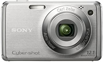 Sony Cybershot DSC-W220 12.1MP Digital Camera with 4x Optical Zoom with Super Steady Shot Image Stabilization (Silver)