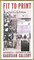 ポスター アーティスト不明 ハーレー Fit to Print2007 collage 額装品 アルミ製ベーシックフレーム(ゴールド)