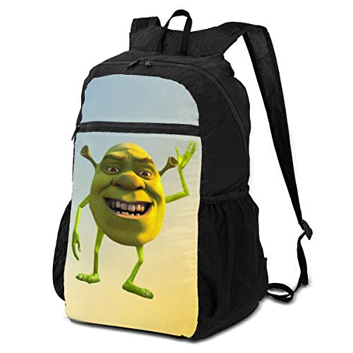 Shrek Wazowski Bagstravel Bags Folding Bags Backpacks Backpacks